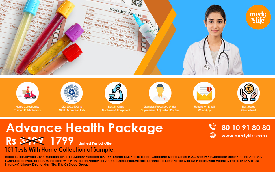 Advance Health Package blue new